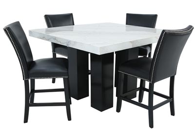 Image for CAMILA 5 PIECE COUNTER HEIGHT DINING SET
