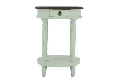 Image for CAROLYN TIDEWATER ROUND ACCENT TABLE