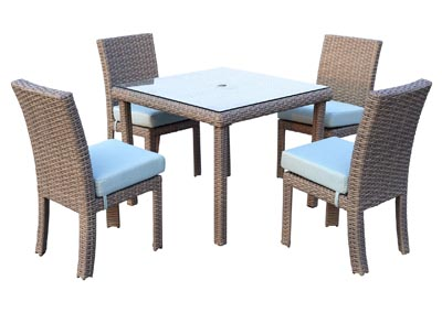Image for 5PC OUTDOOR DINING SET