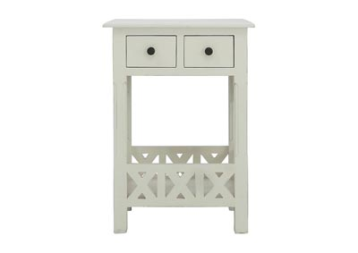 Image for CHRISTIAN WHITE ACCENT TABLE