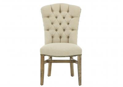 Image for RENO AGAVE UPH TUFTED CHAIR
