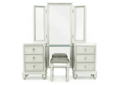 Image for DIVA VANITY WITH STOOL AND MIRROR