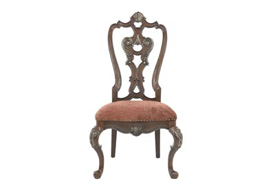 Image for GENEVIEVE WOOD BACK SIDE CHAIR
