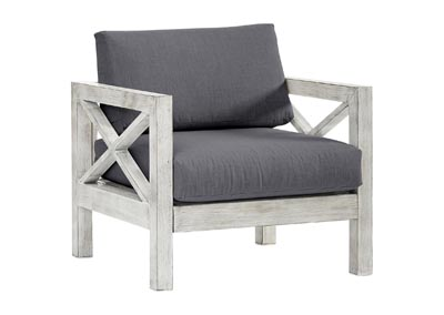 Image for FARLOWE CANVAS COAL CHAIR