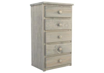 SAWYER DRIFTWOOD 5 DRAWER CHEST,SIMPLY BUNKBEDS