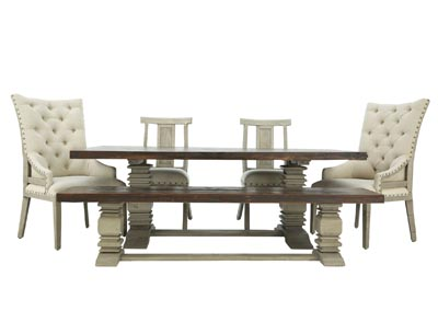Image for ASHLAND 6 PIECE DINING SET