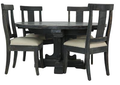Image for PARKS CHARCOAL 5 PIECE DINING SET