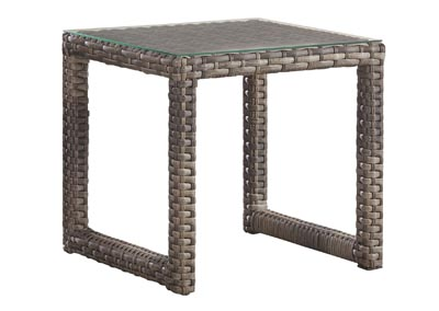 Image for NEW JAVA SANDSTONE END TABLE