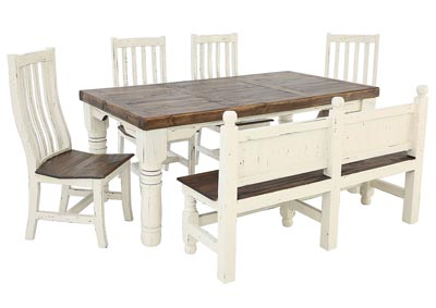 Image for SANTA RITA 6 PIECE DINING SET
