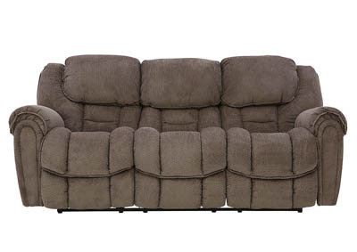 Image for BAXTER TAUPE RECLINING SOFA