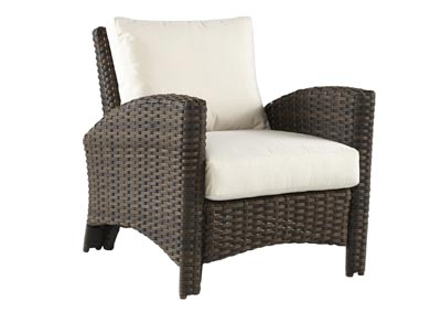 Image for PANAMA CHAIR CHARCOAL BROWN