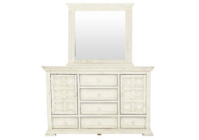Image for TERRA WHITE DRESSER AND MIRROR