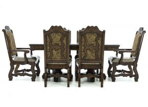 Image for NEO RENAISSANCE 7 PIECE DINING SET