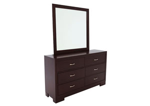 Image for WEBSTER DRESSER AND MIRROR