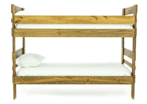Image for DORY CHESTNUT TWIN OVER TWIN BUNKBED