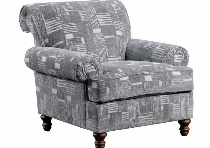 Starlight Accent Chair,Jaron's Showcase
