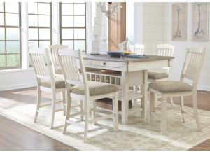 Image for Shayne Counter Height Storage Table w/4 Stools