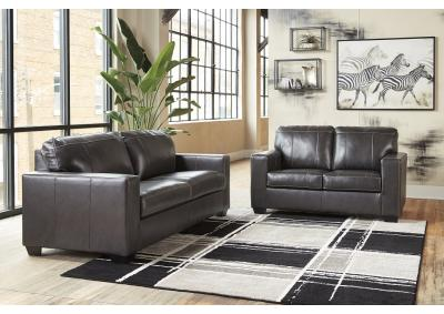 Image for Conrad Leather Sofa and Loveseat