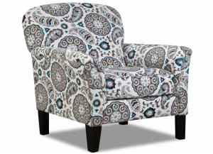 Image for Grandstand Flannel Accent Chair