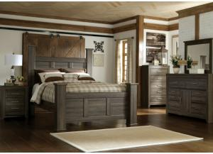 Image for Spenser Queen Poster Bed, Dresser and Mirror