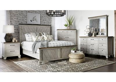 Image for Bear Creek Queen Bed, Dresser, Mirror, Chest and 1 Nighstand