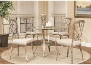 Image for Asti Table and 4 Chairs