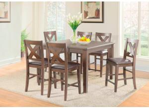 Image for Copper Ridge Counter Height Table and 4 Chairs