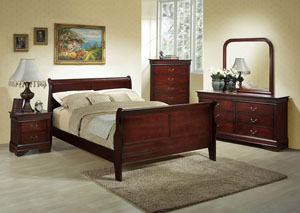 Image for Marseille Full Sleigh Bed