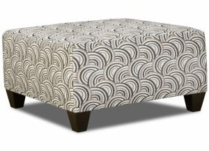 Image for Alby Pewter Cocktail Ottoman