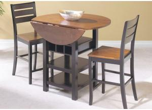 Image for Quincy Drop Leaf Table and 2 Stools