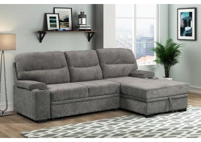 Image for Cyril Sleeper Sectional with Storage