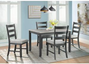 Image for Martin Table and 4 Chairs (all in One)