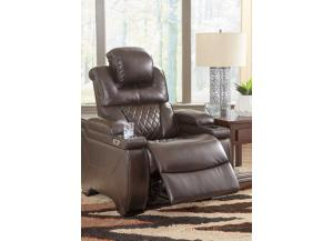 Image for Lincoln Power Recliner with Adjustable Headrest