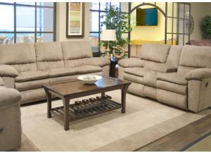 Image for Reyes Power Lay Flat Reclining Sofa and Power Lay Flat Reclining Loveseat