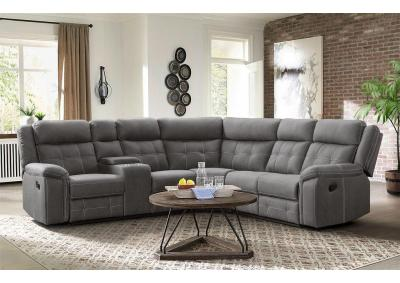 Image for Keystone 3 Piece Reclining Sectional