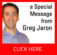 special message from greg jaron