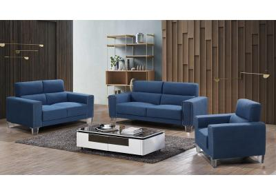 Image for CLASSY BLUE- SOFA + LOVESEAT