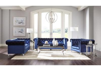 Image for ELEGANT BLUE- SOFA & LOVESEAT