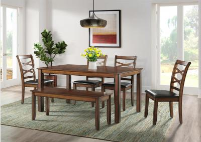 Image for 5081- Table, 4 chairs, bench