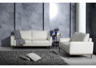 Image for U858 WHITE- SOFA & LOVESEAT