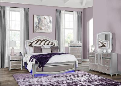 Image for REMI- QUEEN BED, DRESSER, MIRROR, CHEST, 1 NIGHT STAND