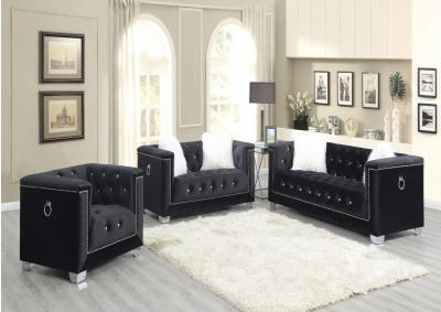 Image for PRINCESS BLACK - SOFA & LOVESEAT