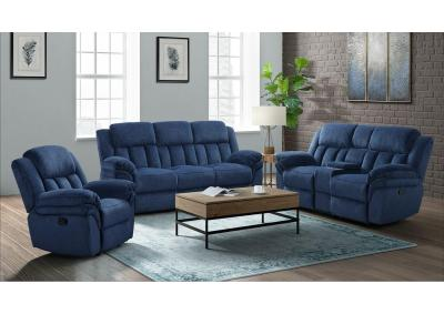 Image for UST-347 RECLINER SOFA + RECLINER LOVESEAT