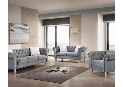 Image for 2074 DIVA GREY- SOFA & LOVESEAT