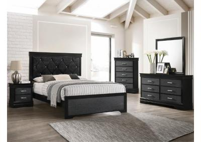Image for B6918-QUEEN BED, DRESSER, MIRROR, CHEST, 1 NIGHT STAND