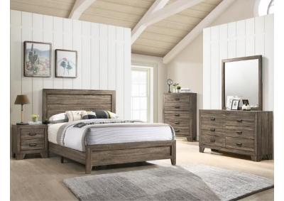 Image for B9200-QUEEN BED, DRESSER, MIRROR, CHEST, 1 NIGHT STAND