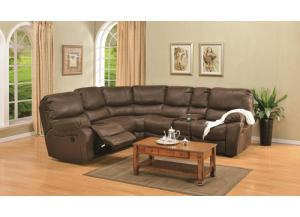 Image for Ramsey Rodeo Brown Modular Reclining Sectional