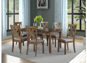 Image for 8604 TABLE & 6 CHAIRS