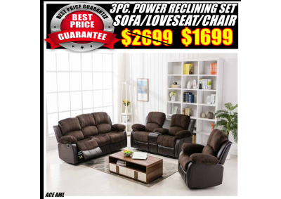 Image for ACE  POWER RECLINING SET