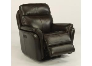 "Image for Flexsteel ""Zoey"" Power Headrest Gliding Recliner"